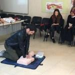 Ereğli'de gönüllü itfaiyecilik eğitimi
