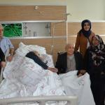 Asker arkadaşları 72 yıl sonra hastane odasında buluştu