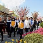 """Kırşehir'de """"Sağlık yaşam"""" yürüyüşü"""