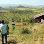 Muğla'da kepçe devrildi: 1 ölü