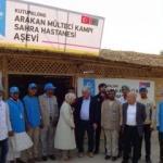 Arakan Aşevi'ne milletvekillerinden ziyaret
