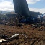 Cezayir'de uçak düştü: Korkunç bilanço...