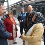 Başkan Uysal'dan mahalle ziyareti