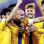Sneijder gözlerin pasını sildi! Harika frikik