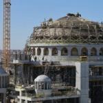 Taksim'e yapılan caminin yüzde 90'ı tamamlandı