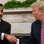 Trump'tan Katar Emiri'ne övgü dolu sözler