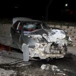 Bursa'da özel halk otobüsü ile otomobil çarpıştı: 3 yaralı