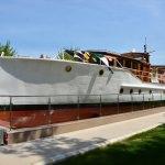 """Atatürk'ün gezi teknesi """"Acar"""" müze oldu"""