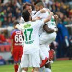 Bursaspor derin nefes aldı! 3 penaltı 1 kırmızı...