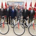 Bakanlık sağlıklı yaşam için bisiklet gönderdi