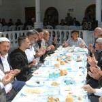Amasya'da yağmur duası ve hayır yemeği