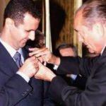 Fransa Esad'a verdiği nişanı geri alıyor