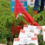 Kumrulular Derneği Afrin şehitleri için fidan dikti