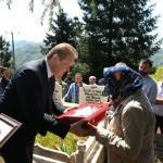 Kıbrıs gazisi Çetinkaya'nın cenazesi toprağa verildi