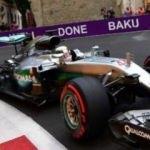 Bakü'de Formula 1 hazırlığı