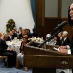 Erdoğan'dan Külliye'de AYM'nin yıl dönümü yemeği