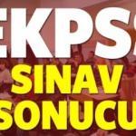 EKPSS sınav sonuçları açıklanma tarihi belli oldu! Mayıs ayının...