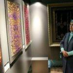 Emine Erdoğan karma eserler sergisini ziyaret etti
