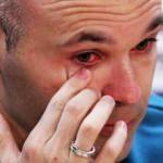 Iniesta gözyaşları içinde veda etti!