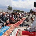 Erzincanlılar yağmur duasına çıktı