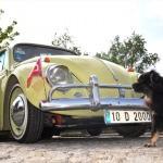 Klasik otomobil tutkunları Kütahya'da buluştu