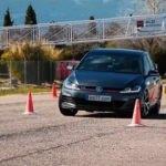 Golf GTI zorlu manevra testinde