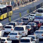 Trafiğe çıkan araç sayısında büyük artış!