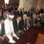 Tarihi cami 60 yıl sonra yeniden ibadete açıldı