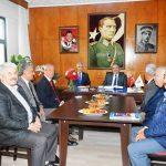 Vali Kaban'dan TEMAD Malatya Şubesine ziyaret