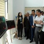 Kadirli'de Halk Eğitim Merkezi yıl sonu sergisi
