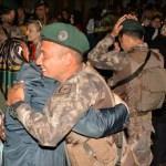 Afrin'de görev yapan PÖH timi döndü