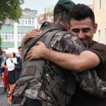 Afrin'de görev yapan PÖH'ler geri döndü