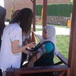 Meslek lisesi öğrencilerinden evde sağlık hizmeti