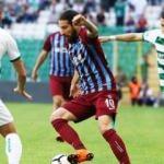 Trabzonspor Bursa'nın fişini ilk yarıda çekti