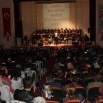Havza'da Türk halk müziği konseri
