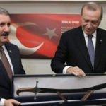 Destici'den Erdoğan'a özel yapım hediye!