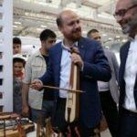 Etnospor Festivali'nde Erdoğan'dan kemençe şov!