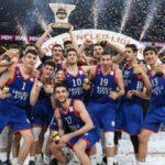 Gençler Ligi'nde şampiyon Anadolu Efes!