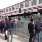 Müzik dinleyen kıza tren çarptı!