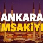 2018 Ankara imsakiye sahur ve iftar vakti! Diyanet ezan saatleri...