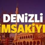 2018 Denizli imsakiye sahur ve iftar vakti! Sabah ve Akşam ezanı saati...