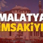 2018 Malatya imsakiye sahur ve iftar vakti! Sabah ve Akşam ezanı saat...