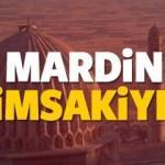 2018 Mardin imsakiye sahur ve iftar vakti! Sabah ve Akşam ezanı saati...
