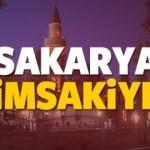 2018 Sakarya imsakiye sahur ve iftar vakti! Sabah ve Akşam ezanı saati...
