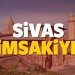 2018 Sivas imsakiye sahur ve iftar vakti! Sabah ve Akşam ezanı saati...