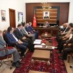 Vali Balkanlıoğlu seçim öncesi parti il başkanlarıyla toplantı yaptı