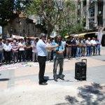 Adana'da Filistinli şehitlere gıyabi cenaze namazı
