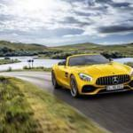 Mercedes-AMG GT S Roadster tozu dumana kattı