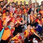 Şampiyon Galatasaray Kupasına kavuştu!