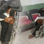 15 gündür tekerlekli sandalye üzerinde kalıyor